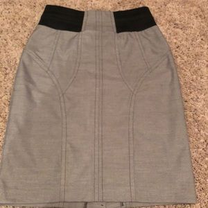 Worthington grey tweed pencil skirt